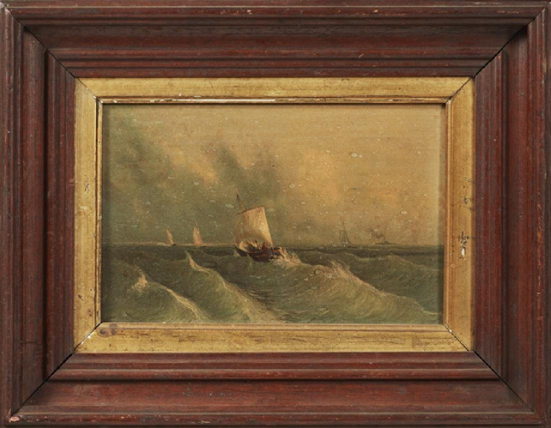 """At Sea,"" 1859, chromolithograph by Colton, Zahm, and"