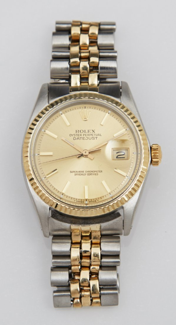 Man's Rolex 14K Yellow Gold and Stainless Oyster