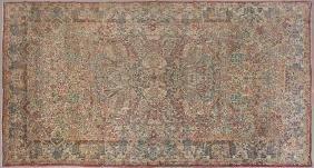 Semi Antique Kirman Carpet, 10' 9 x 17' 5