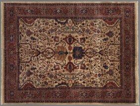 Laristan Serapi Carpet, 9' x 11' 6