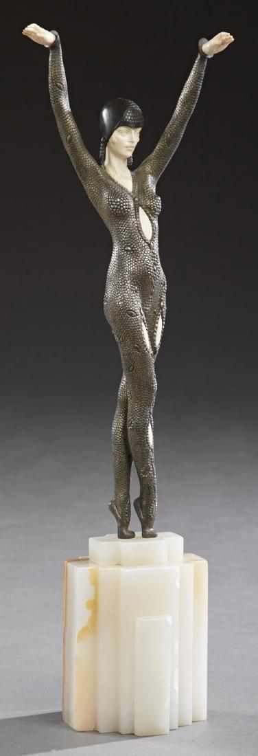 "Demetre Chiparus (1886-1947, French), ""Dourga,"" c."