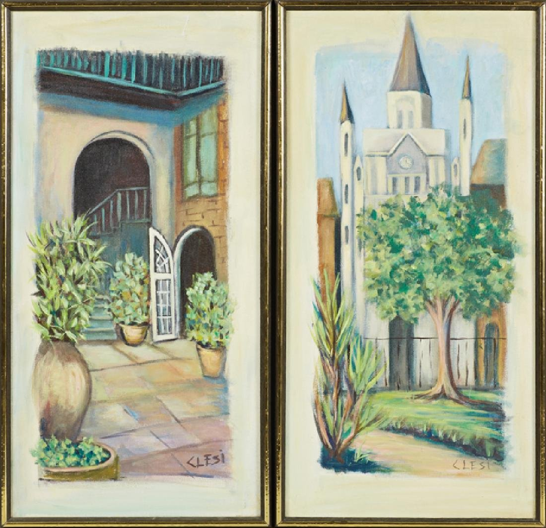 "Pamela Clesi (New Orleans), ""St. Louis Cathedral,"" and"