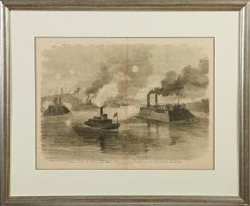 """""""Federal Gunboats and Ironclads, Under Admiral Porter,"""