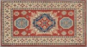 Uzbek Kazak Carpet, 2' 6 x 4' 1