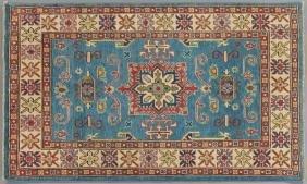 Uzbek Shirvan Carpet, 3' 4 x 5' 9