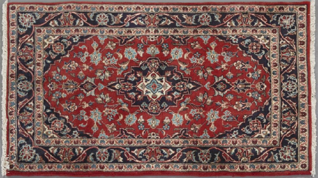 Semi Antique Persian Kashan Carpet, 3' 3 x 4' 11