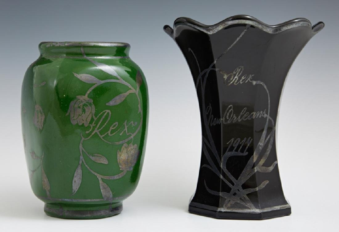 Two Mardi Gras Ball Favors, Rex, consisting of a 1916