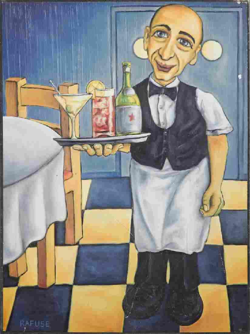 "Will Rafuse (1955- , Canadian), ""Joe the Bartender,"""