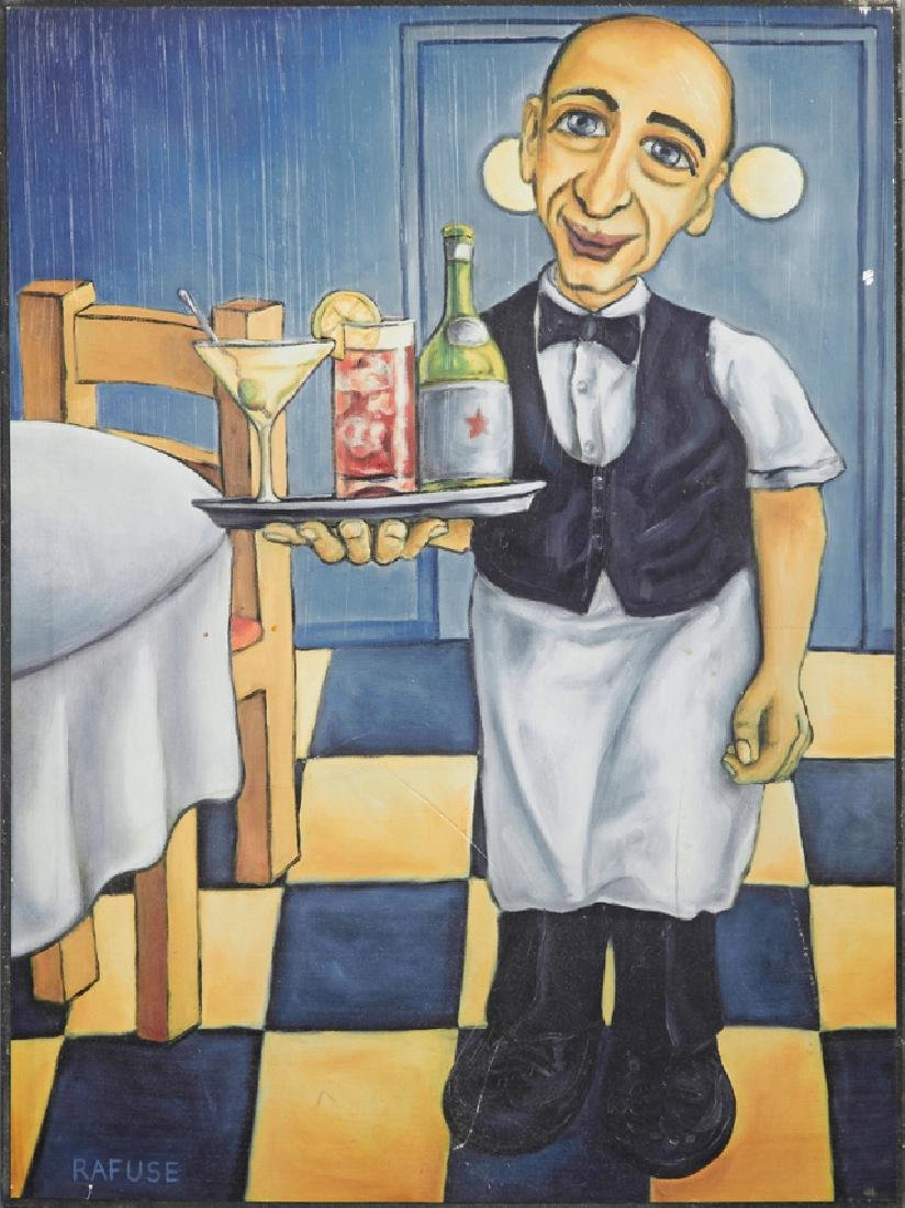 "Will Rafuse (1955- , Canadian), ""Joe the Bartender,"""