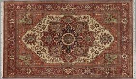 Agra Serapi Carpet, 6' x 9'