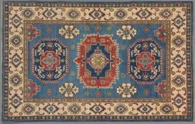 Uzbek Kazak Carpet, 5' x 7' 3