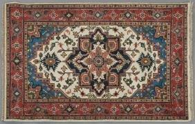Agra Serapi Carpet, 4' 2 x 6'.