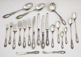 Ninety-Six Piece Set of Sterling Flatware, by Towle,