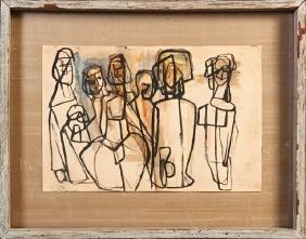 "Robert Gordy (1933-1966, New Orleans), ""Standing"