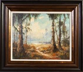 """Robert M. Rucker (1932-2000, Louisiana), """"Louisiana"""