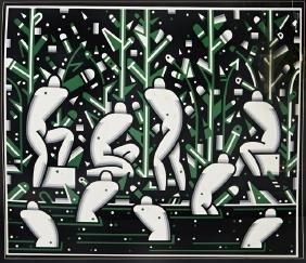 "Robert Gordy (1933-1986, New Orleans), Â""River"