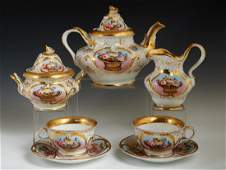 French Old Paris Porcelain Petit Dejeuner Coffee