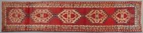 Serapi Carpet, 3' 4 x 13' 3.