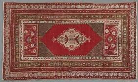 Antique Turkish Oushak Carpet, 3' 5 x 5' 3.