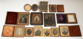 Group of Thirteen Antique Photographs, 19th c.,