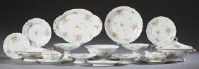 Forty-Six Piece Set of French Limoges Porcelain