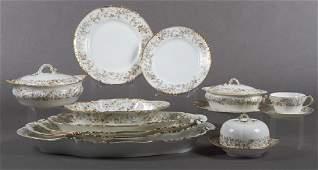 Seventy-Eight Piece Set of Haviland Limoges Porcel