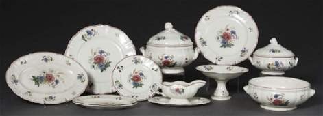 French Seventy Piece Set of Ceramic Dinnerware 20