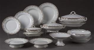 Ninety-Eight Piece Set of French Limoges Porcelain