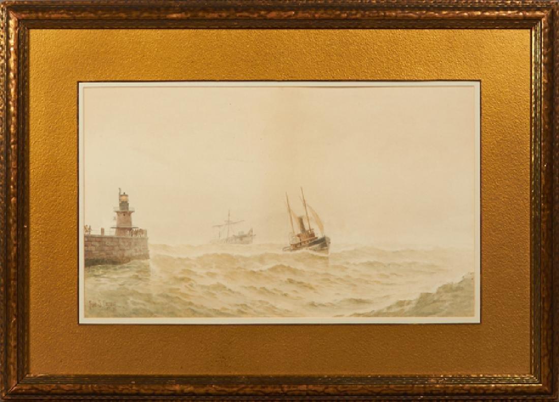"Frederick S. Cozzens (1846-1928, American), ""Ships in"