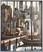 Leopold ReiserVaney 1921  German Der Alte Hafen