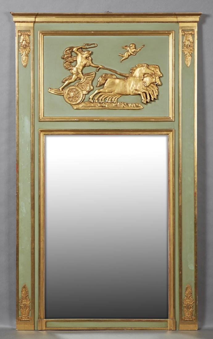 French Polychromed Gilt and Gesso Louis XV Style