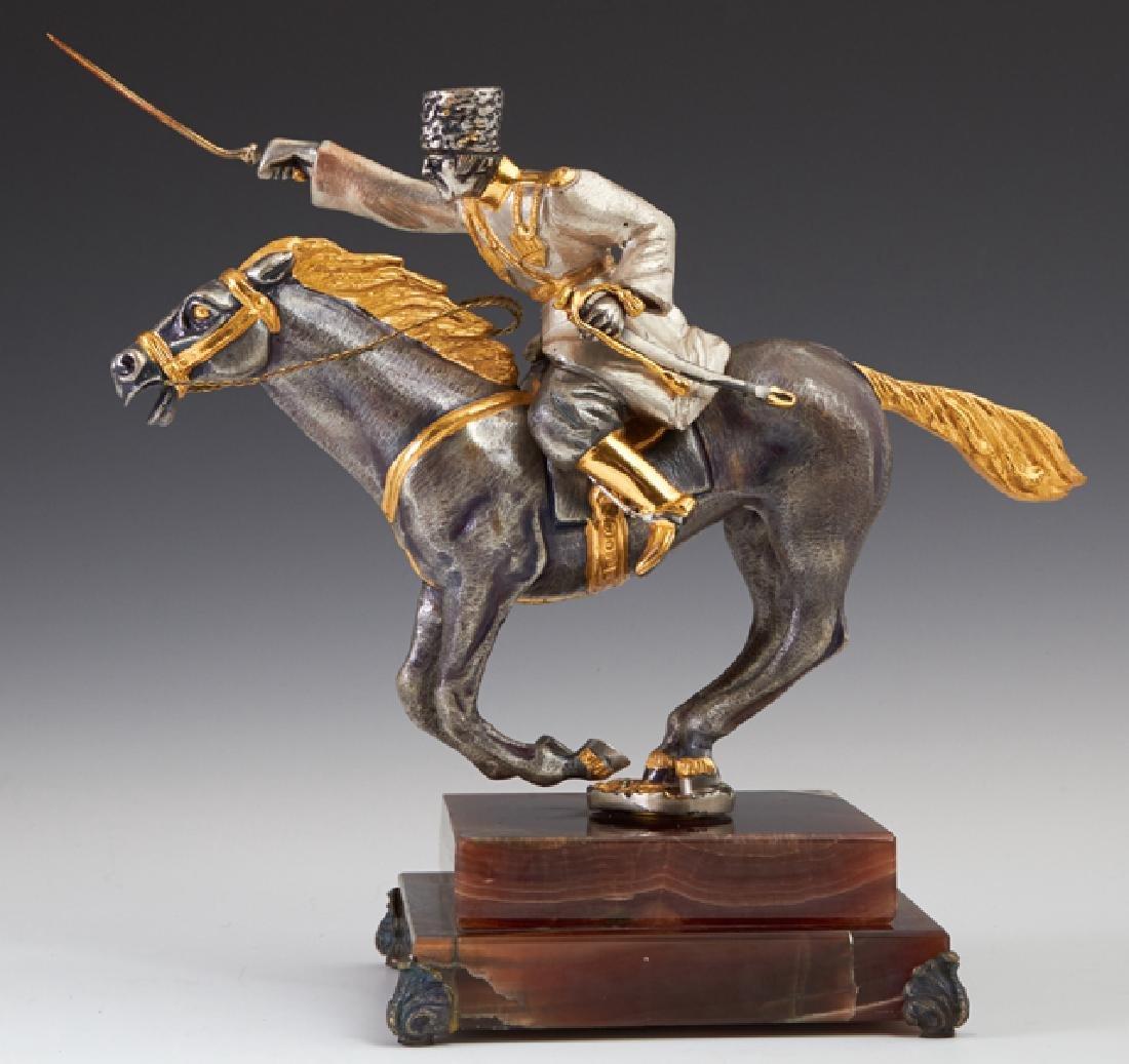 "Giuseppe Vasari (1934-2005, Italian), ""The Cossack,"""