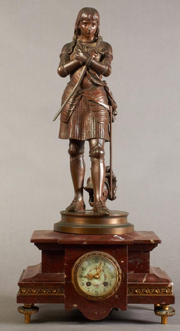"Eutrope Bouret (1833-1906, French), ""Jeanne D'Arc,"""