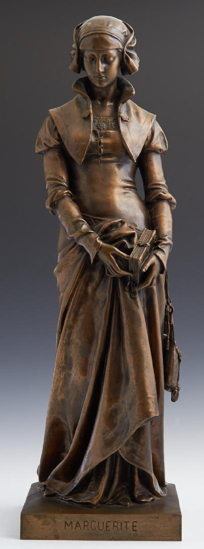 "Eugene Aizelin (1821-1902, French), ""Marguerite,"" 19th"