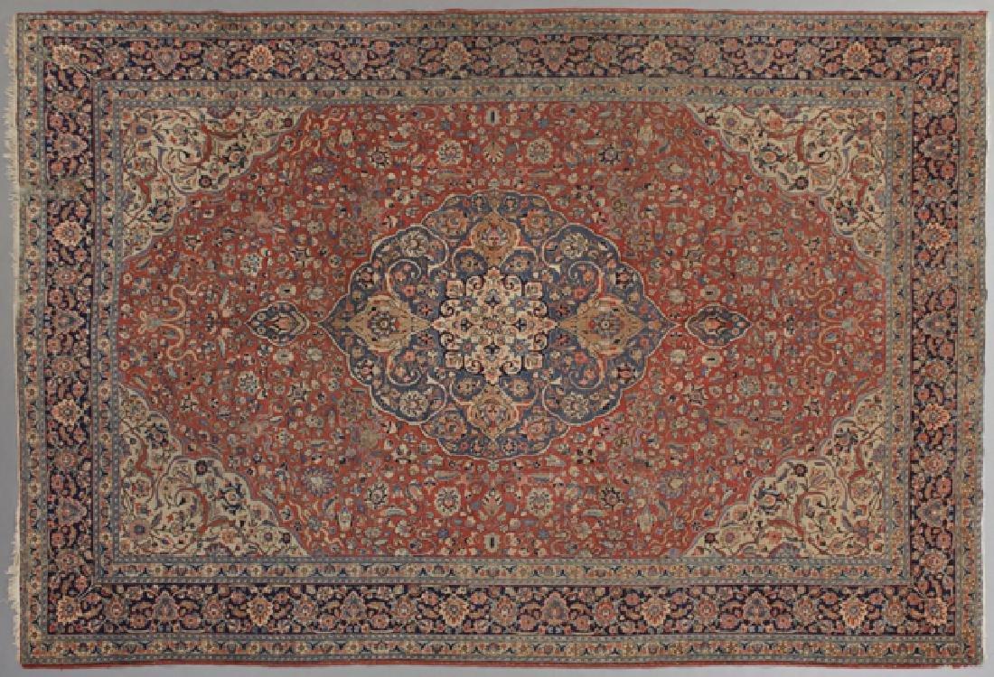 Semi-Antique Persian Carpet, 9' 3 x 12' 9.