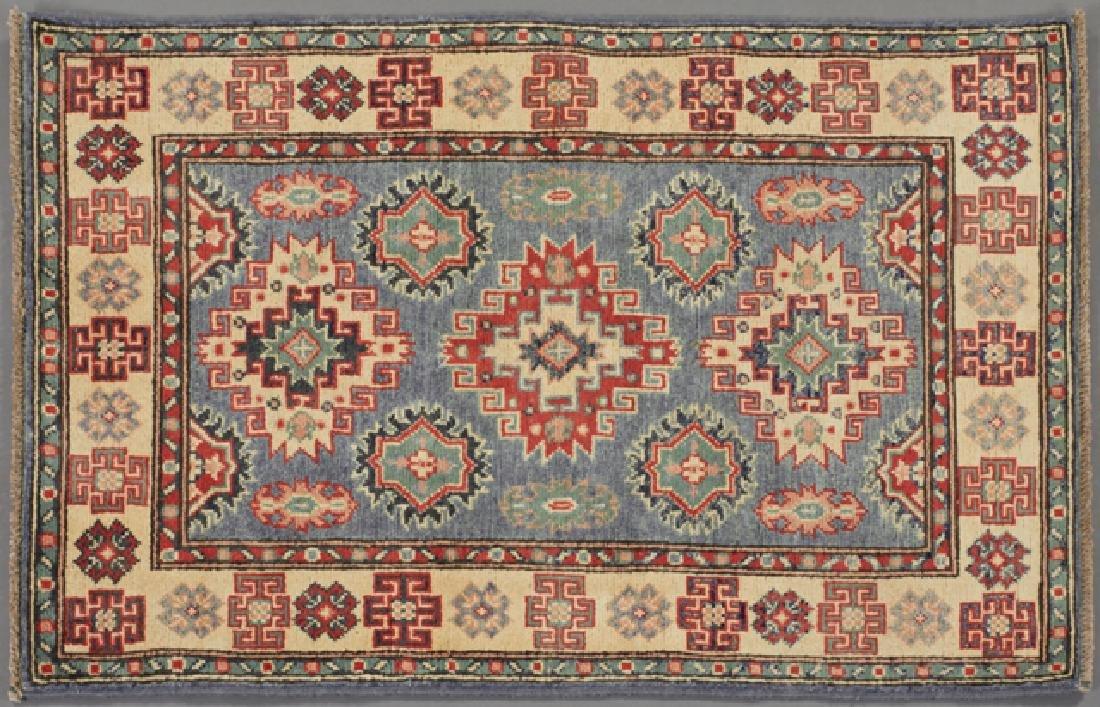 Uzbek Kazak Carpet, 2' 8 x 4'