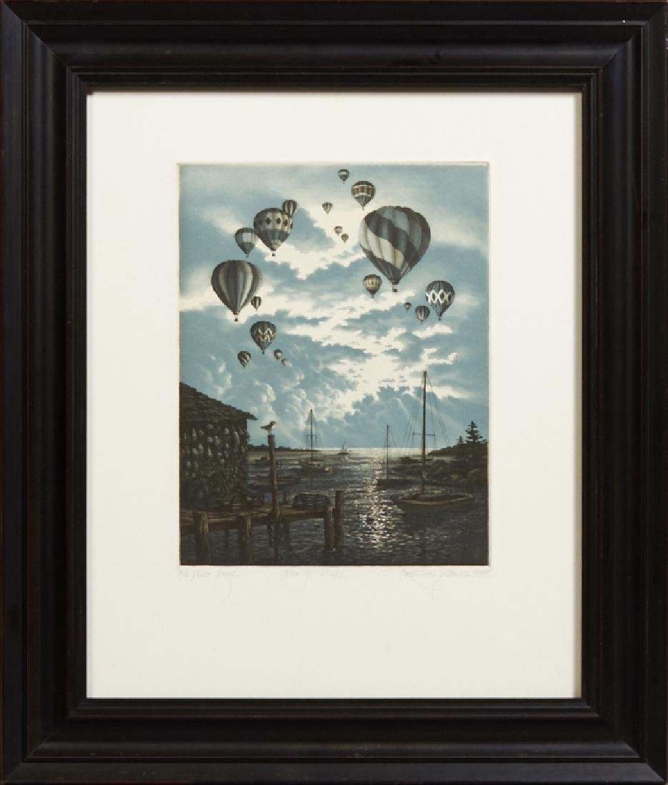 """Kathleen Cantia, """"Blow Ye Winds,"""" 1988, artist's proof"""