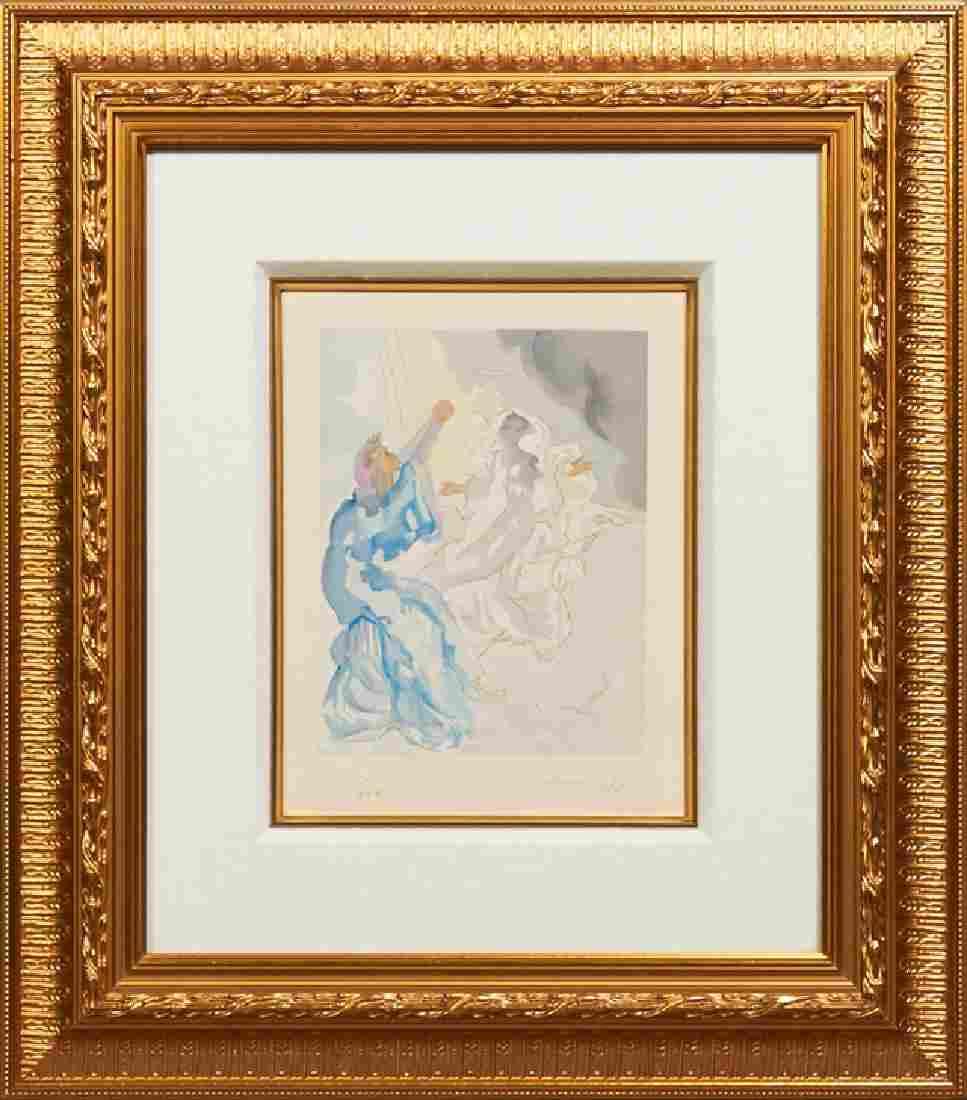 "Salvador Dali (1904-1989), ""Dante's Men Doubt,"" 1974,"