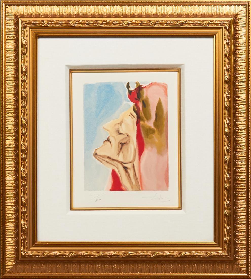 """Salvador Dali (1904-1989), """"New Aspect of Beatrice,"""""""