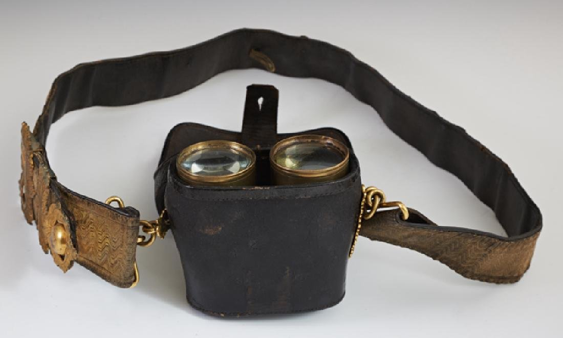 British Artillery Officer's Leather Field Belt, 19th or - 2