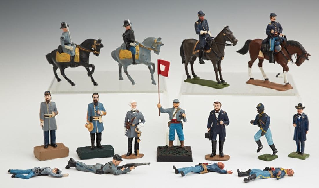 Group of One Hundred Fourteen Civil War Toy Lead