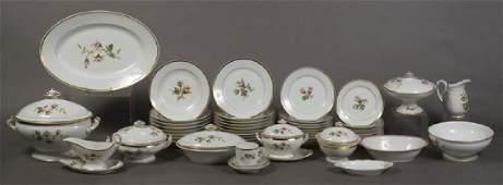 One Hundred Twelve Piece Set of Havilland Limoges