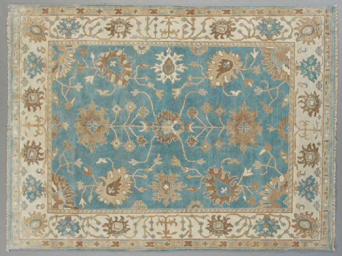 Turkish Angora Oushak Carpet, 8' x 10'.