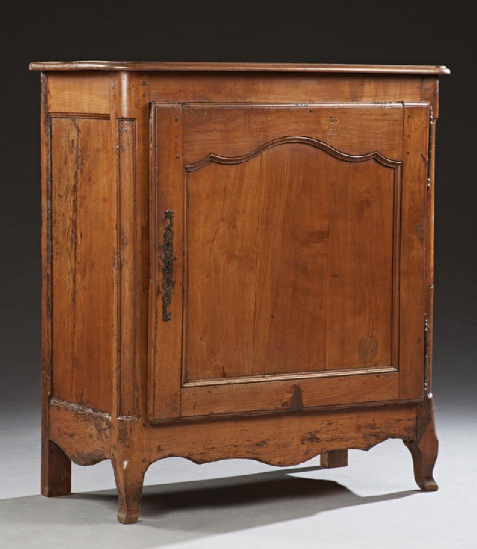 French Louis XV Style Carved Cherry Confiturier, early