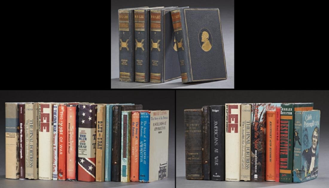 Group of Forty-Eight Books of Civil War Interest,