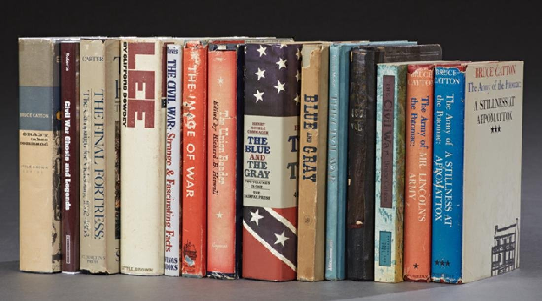 Group of Forty-Eight Books of Civil War Interest, - 3