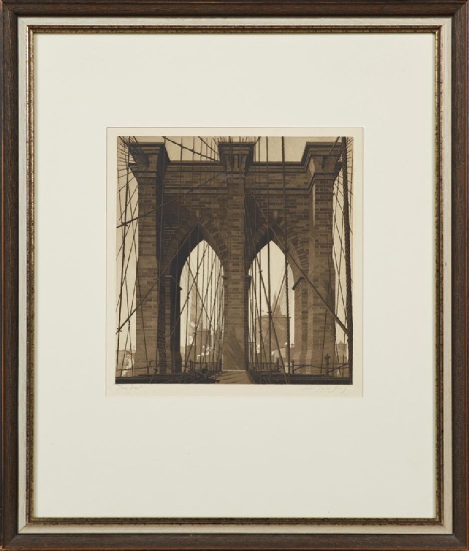 "John Taylor Arms (1887-1953, American), ""The Gates"