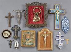 Group of Fifty French Religious Items, early 20th