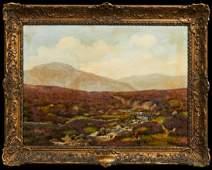 "George Vicat Cole (1833-1893, English), ""Dartmoor,"""