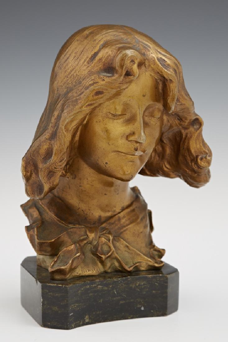 """Pierre Felix Fix-Masseau (1869-1937), """"Bust of a"""
